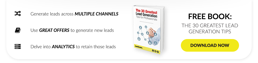 The 30 Greatest Lead Generation Tips for Professionals