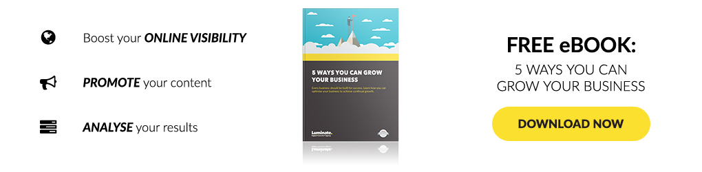Download your copy of our free 5 Ways You Can Grow Your Business eBook.